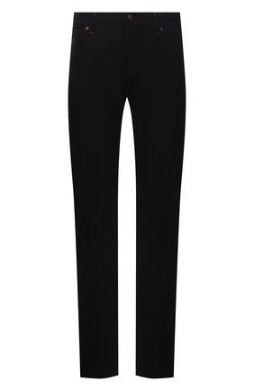 Мужские кашемировые брюки MARCO PESCAROLO черного цвета, арт. NERAN0M18/ZIP/4442 | Фото 1