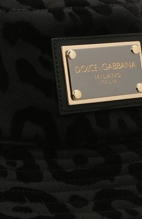 Мужская хлопковая панама DOLCE & GABBANA черного цвета, арт. GH693A/G7YTH | Фото 3