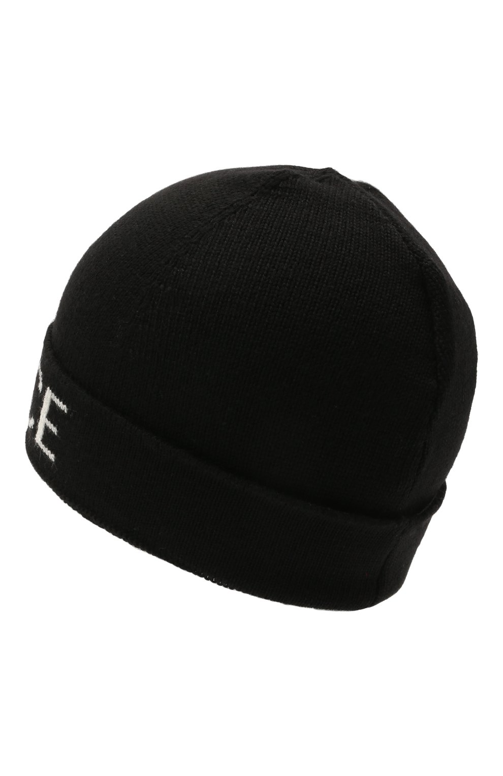Детского шерстяная шапка VERSACE черного цвета, арт. 1002119/A236561 | Фото 2