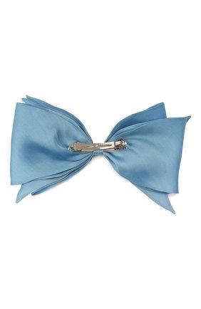 Женская заколка для волос FLOWER ME голубого цвета, арт. ZBOW-NS005010L   Фото 2