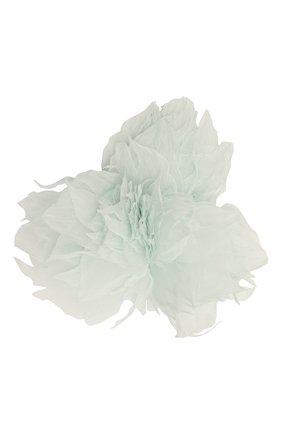 Женская брошь pion FLOWER ME голубого цвета, арт. PION-NS005010M | Фото 1 (Материал: Текстиль)