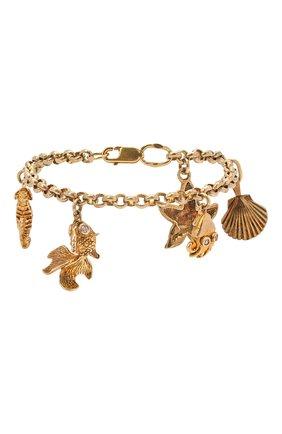 Женский браслет DZHANELLI золотого цвета, арт. 0448 | Фото 1