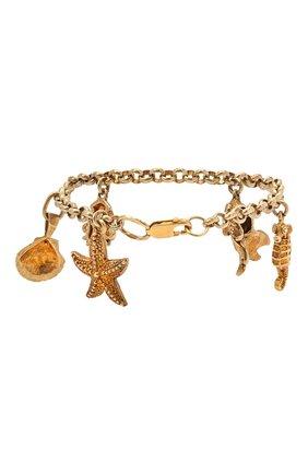Женский браслет DZHANELLI золотого цвета, арт. 0448 | Фото 2