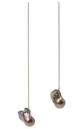 Женское колье DZHANELLI серебряного цвета, арт. 071 | Фото 2