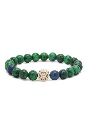 Женский браслет DZHANELLI зеленого цвета, арт. 1141 | Фото 1