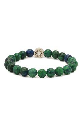 Женский браслет DZHANELLI зеленого цвета, арт. 1141 | Фото 2