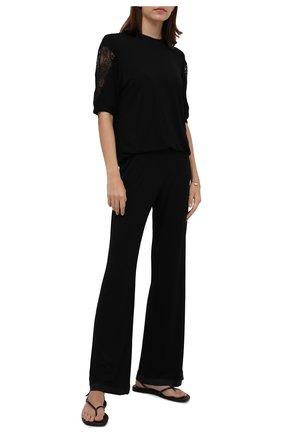 Женский домашний костюм I.D. SARRIERI черного цвета, арт. L9534-L9570   Фото 1