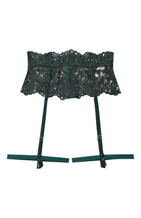 Женский пояс для чулок I.D. SARRIERI зеленого цвета, арт. J5350 | Фото 1 (Материал внешний: Синтетический материал)