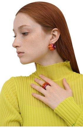 Женское кольцо curiosa SWAROVSKI красного цвета, арт. 5599892 | Фото 2