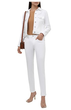 Женские джинсы DOLCE & GABBANA белого цвета, арт. FTAIAD/G899M | Фото 2