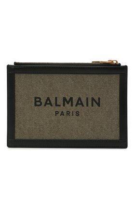 Женская сумка b-army BALMAIN хаки цвета, арт. WN1LB664/TCPY | Фото 1