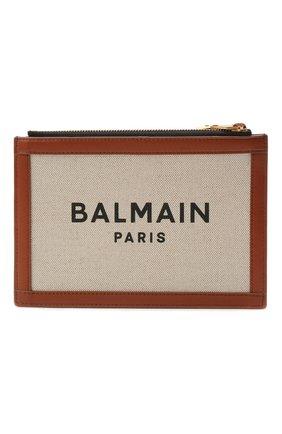 Женская сумка b-army BALMAIN коричневого цвета, арт. WN1LB664/TCFN | Фото 1