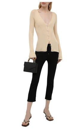 Женские джинсы DSQUARED2 черного цвета, арт. S75LB0530/S30730 | Фото 2