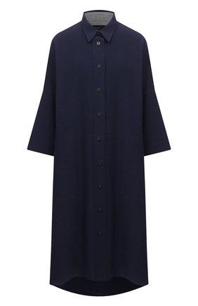 Платье из хлопка и льна | Фото №1