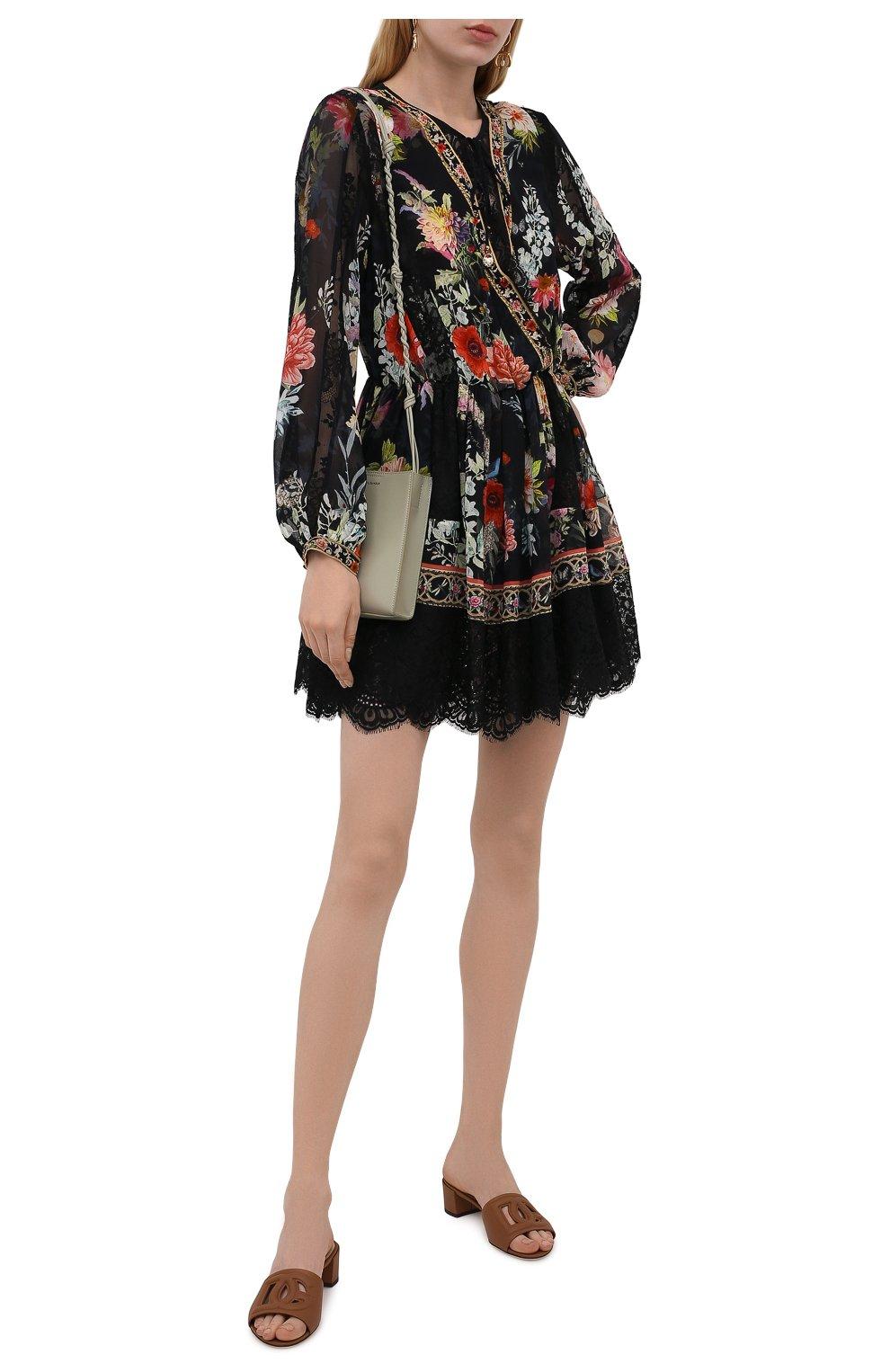 Женское шелковое платье CAMILLA разноцветного цвета, арт. 9980 | Фото 2