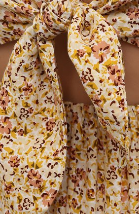 Женское платье из вискозы FAITHFULL THE BRAND желтого цвета, арт. FF1659-LRF   Фото 5