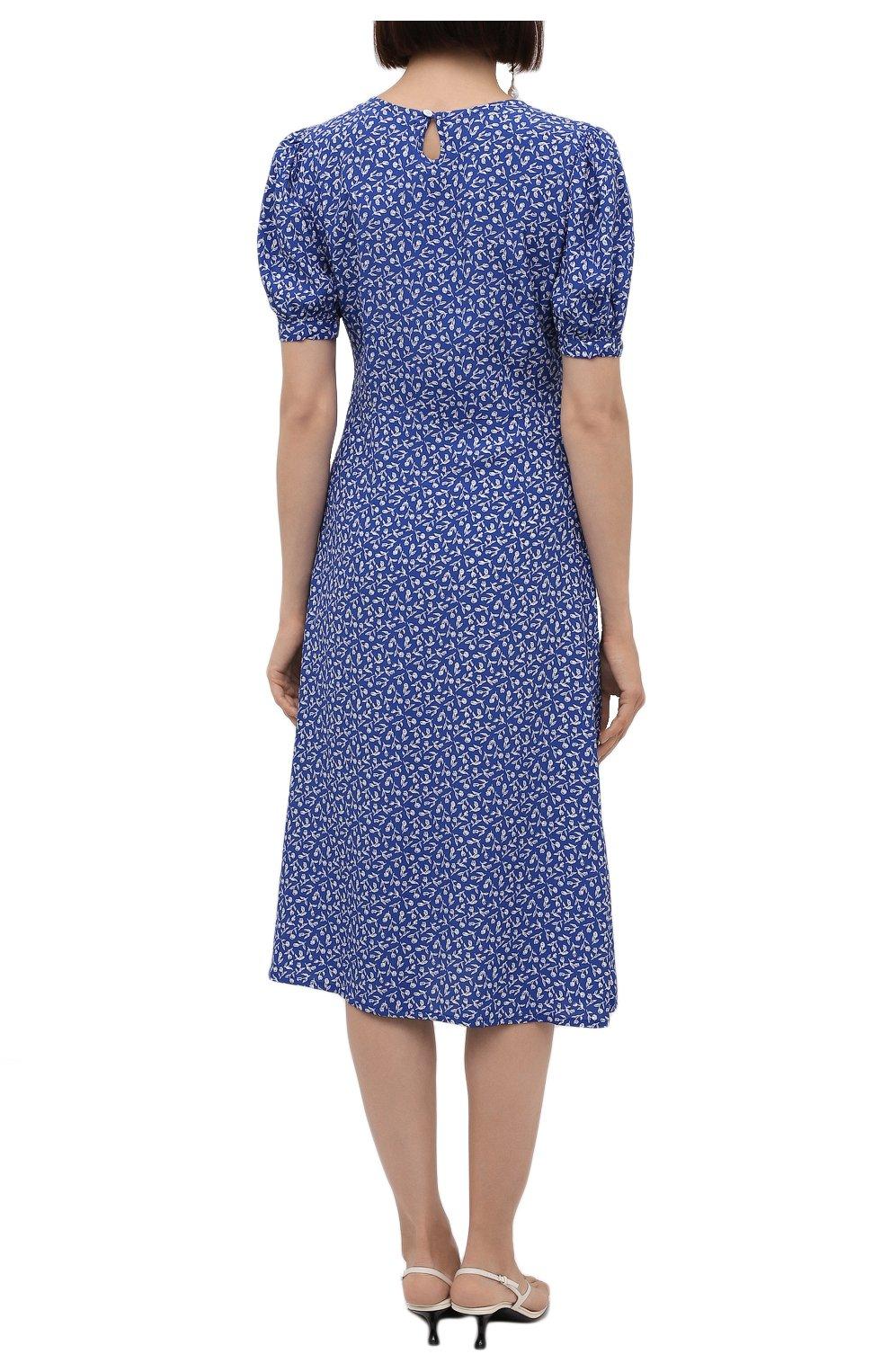 Женское платье из вискозы FAITHFULL THE BRAND синего цвета, арт. FF1742-MVB   Фото 4