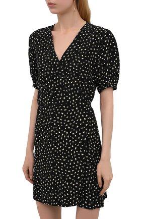 Женское платье из вискозы FAITHFULL THE BRAND черного цвета, арт. FF1825-EVF   Фото 3