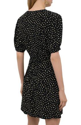Женское платье из вискозы FAITHFULL THE BRAND черного цвета, арт. FF1825-EVF   Фото 4