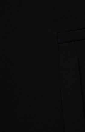 Детская хлопковая юбка EMPORIO ARMANI темно-синего цвета, арт. 6K3N08/1JHSZ   Фото 3