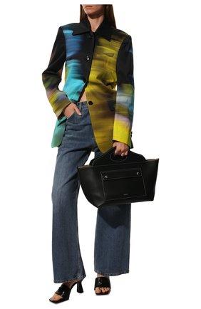 Женская сумка pocket BURBERRY черного цвета, арт. 8041745 | Фото 3
