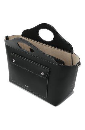 Женская сумка pocket BURBERRY черного цвета, арт. 8041745 | Фото 5