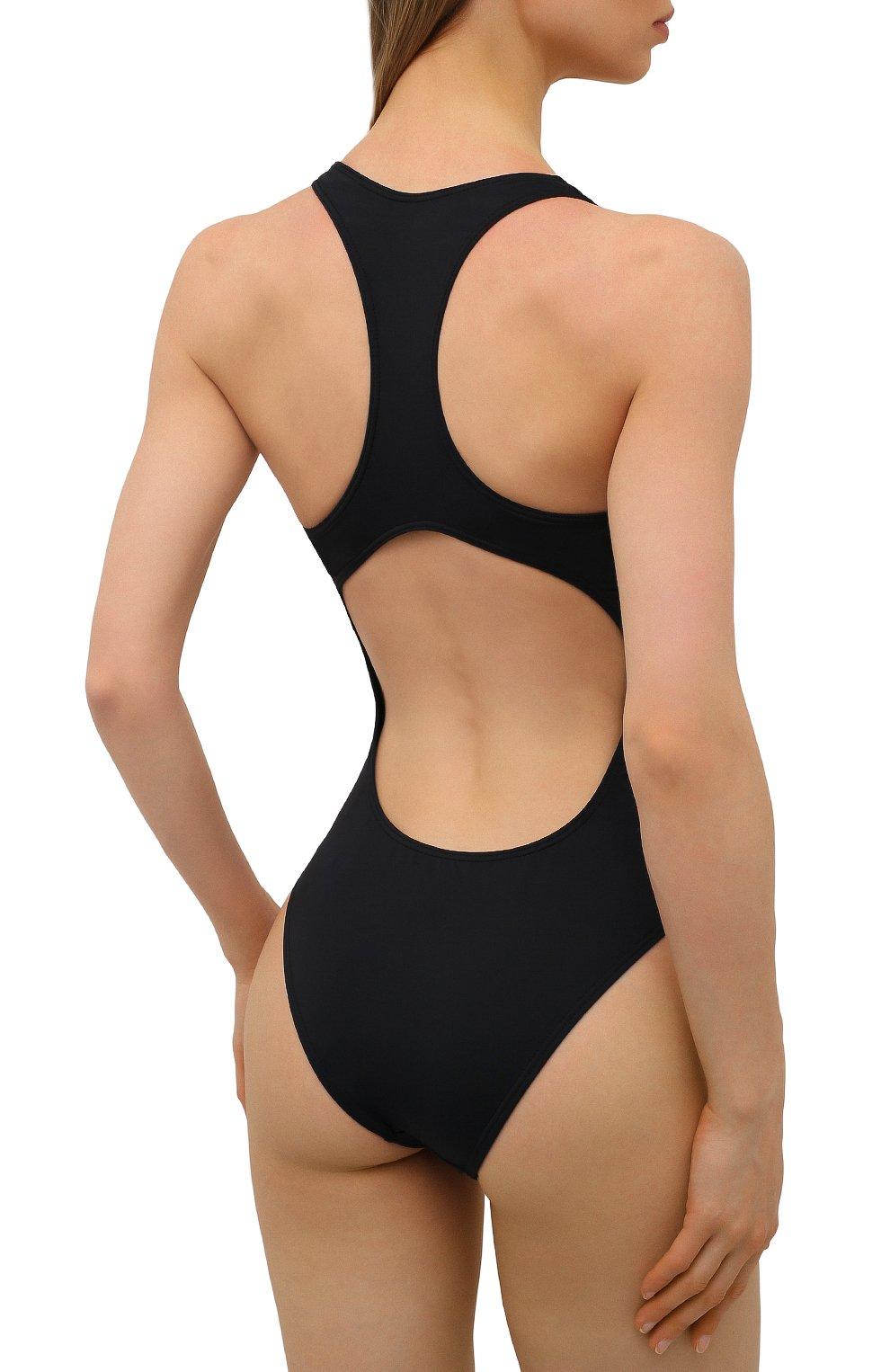 Женский слитный купальник VETEMENTS черного цвета, арт. WA52TR640B 1332/BLACK | Фото 3