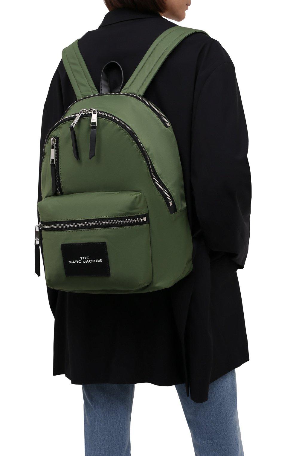 Женский рюкзак MARC JACOBS (THE) темно-зеленого цвета, арт. H303M02PF21 | Фото 2