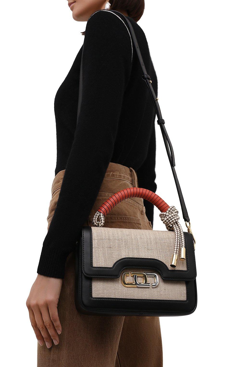 Женская сумка the j link MARC JACOBS (THE) бежевого цвета, арт. H901M02PF21 | Фото 5