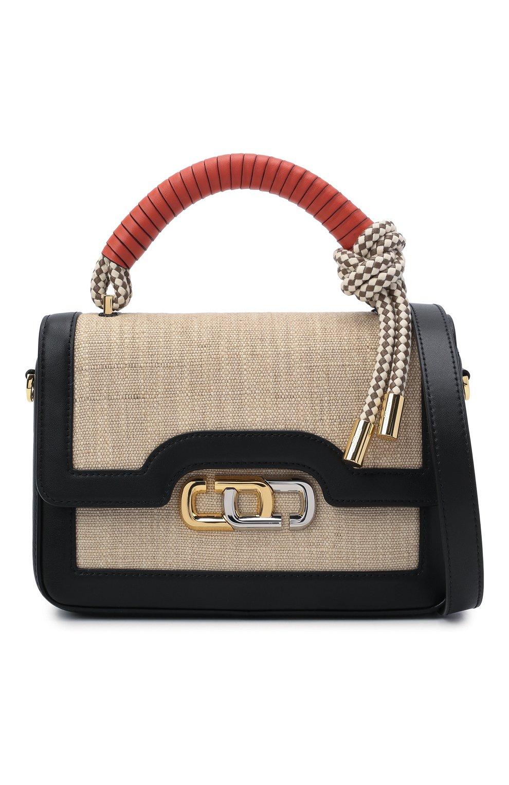 Женская сумка the j link MARC JACOBS (THE) бежевого цвета, арт. H901M02PF21 | Фото 6