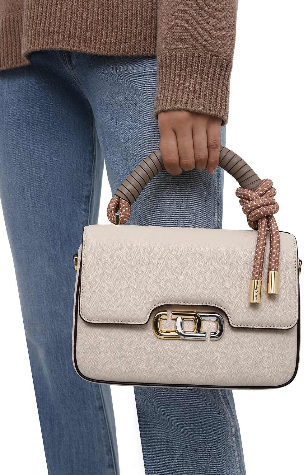 Женская сумка the j link MARC JACOBS (THE) кремвого цвета, арт. M0017067 | Фото 2