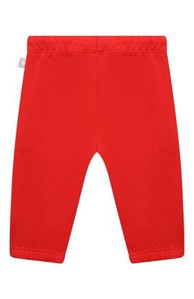 Детские хлопковые брюки STELLA MCCARTNEY красного цвета, арт. 602286/SQJ30 | Фото 2