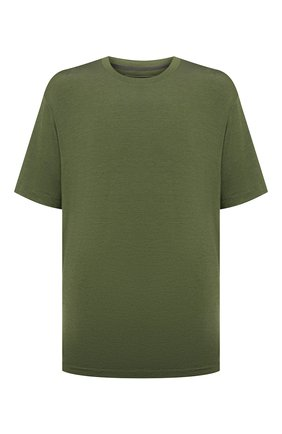 Мужская футболка из шелка и кашемира MARCO PESCAROLO хаки цвета, арт. JAMES/4365 | Фото 1