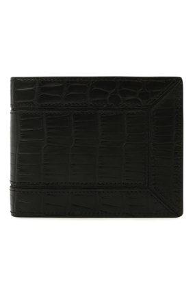 Мужской портмоне из кожи аллигатора ZILLI черного цвета, арт. MJL-0WB02-A0106/0002/AMIS | Фото 1
