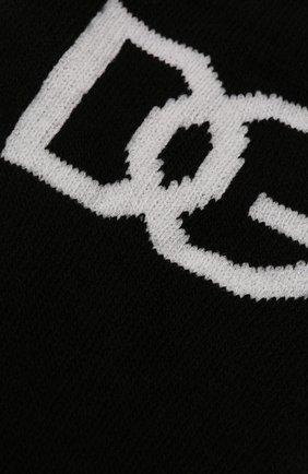 Мужские хлопковые носки DOLCE & GABBANA черного цвета, арт. GXG83T/JACKU | Фото 2