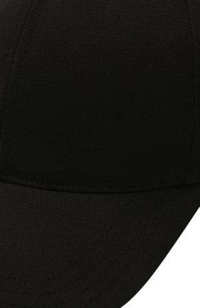 Мужской хлопковая бейсболка DOLCE & GABBANA черного цвета, арт. GH590A/GEV12   Фото 3