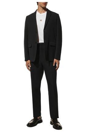 Мужская хлопковая футболка DOLCE & GABBANA белого цвета, арт. G8NC5Z/G7A0W | Фото 2