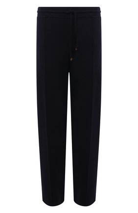 Мужские брюки из кашемира и хлопка BRUNELLO CUCINELLI темно-синего цвета, арт. MTU013212W | Фото 1