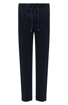 Мужские джинсы CORTIGIANI темно-синего цвета, арт. 213538/0000/3270/60-70 | Фото 1