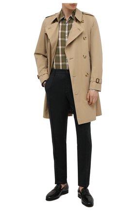 Мужские кожаные пенни-лоферы SANTONI черного цвета, арт. MCCG15609SI5EVRTN01 | Фото 2