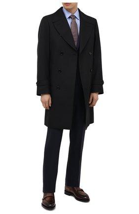 Мужские кожаные монки SANTONI темно-коричневого цвета, арт. MCCG17744MD3HFULT50 | Фото 2