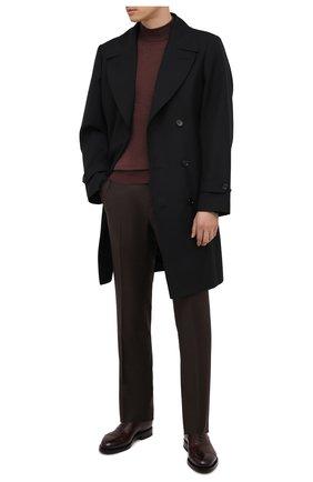 Мужские кожаные оксфорды SANTONI бордового цвета, арт. MCCG17835MH4H0BRQ67 | Фото 2