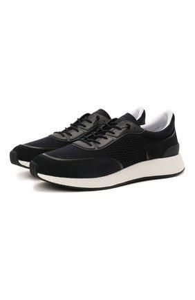 Мужские комбинированные кроссовки piuma Z ZEGNA темно-синего цвета, арт. A5107X-LHCB0 | Фото 1 (Материал внешний: Текстиль; Материал внутренний: Текстиль; Подошва: Массивная)