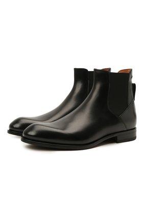 Мужские кожаные челси ZEGNA COUTURE черного цвета, арт. A4373X-LHB0C | Фото 1