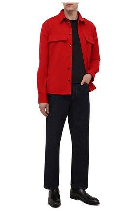 Мужские кожаные челси ZEGNA COUTURE черного цвета, арт. A4373X-LHB0C | Фото 2
