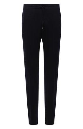 Мужские шерстяные брюки Z ZEGNA темно-синего цвета, арт. 277760/6300GW   Фото 1