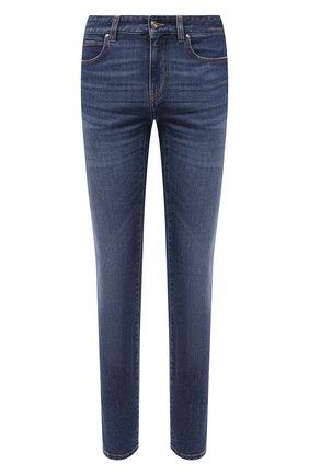 Мужские джинсы Z ZEGNA синего цвета, арт. VY771/ZZ530 | Фото 1 (Материал внешний: Хлопок; Длина (брюки, джинсы): Стандартные; Стили: Кэжуэл; Силуэт М (брюки): Прямые)