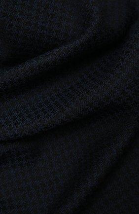 Мужской шарф из шерсти и шелка KITON темно-синего цвета, арт. USCIACX0291A | Фото 2