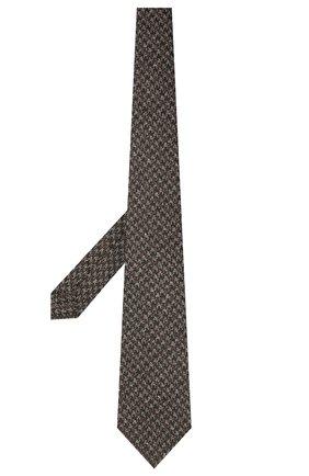 Галстук из шелка и шерсти | Фото №2