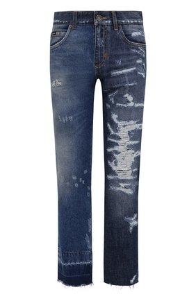 Мужские джинсы DOLCE & GABBANA синего цвета, арт. GYJCCD/G8EM2   Фото 1